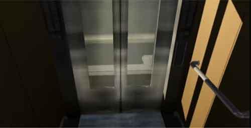 高所恐怖SHOW エレベーター